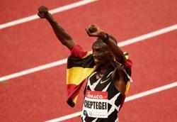 Cheptegei smashes 5,000 metres world record at Monaco Diamond League