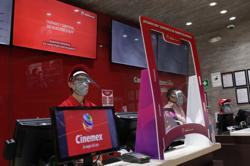 Mexico City cinema, theater and bars emerge from lockdown gloom