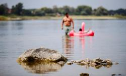 Drying Brandenburg lake is symbol of climate change, say scientists