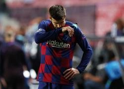 Barca's Pique calls for wholesale changes after 'shameful' Bayern defeat