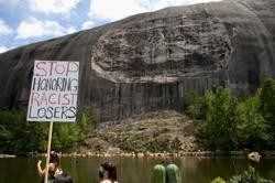 Georgia's Stone Mountain Park shuts down ahead of anticipated militia rally