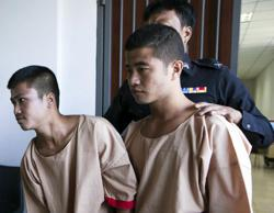 Thailand: Death sentence of Myanmar men commuted in Brit murder case