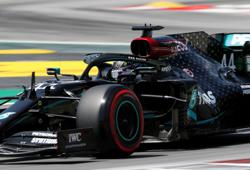 Hamilton completes Spanish GP practice clean sweep for Mercedes