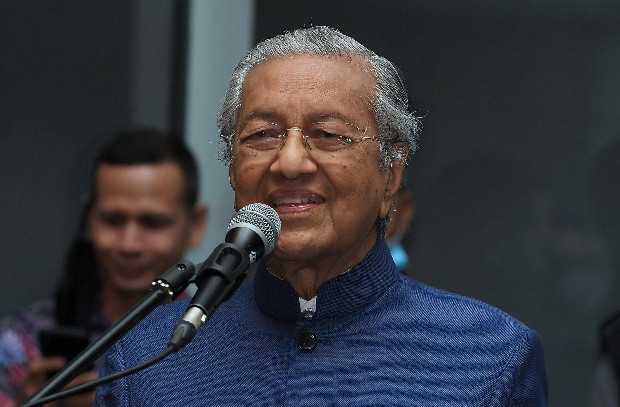 Dr Mahathir proves that no one is too old for TikTok. — Bernama