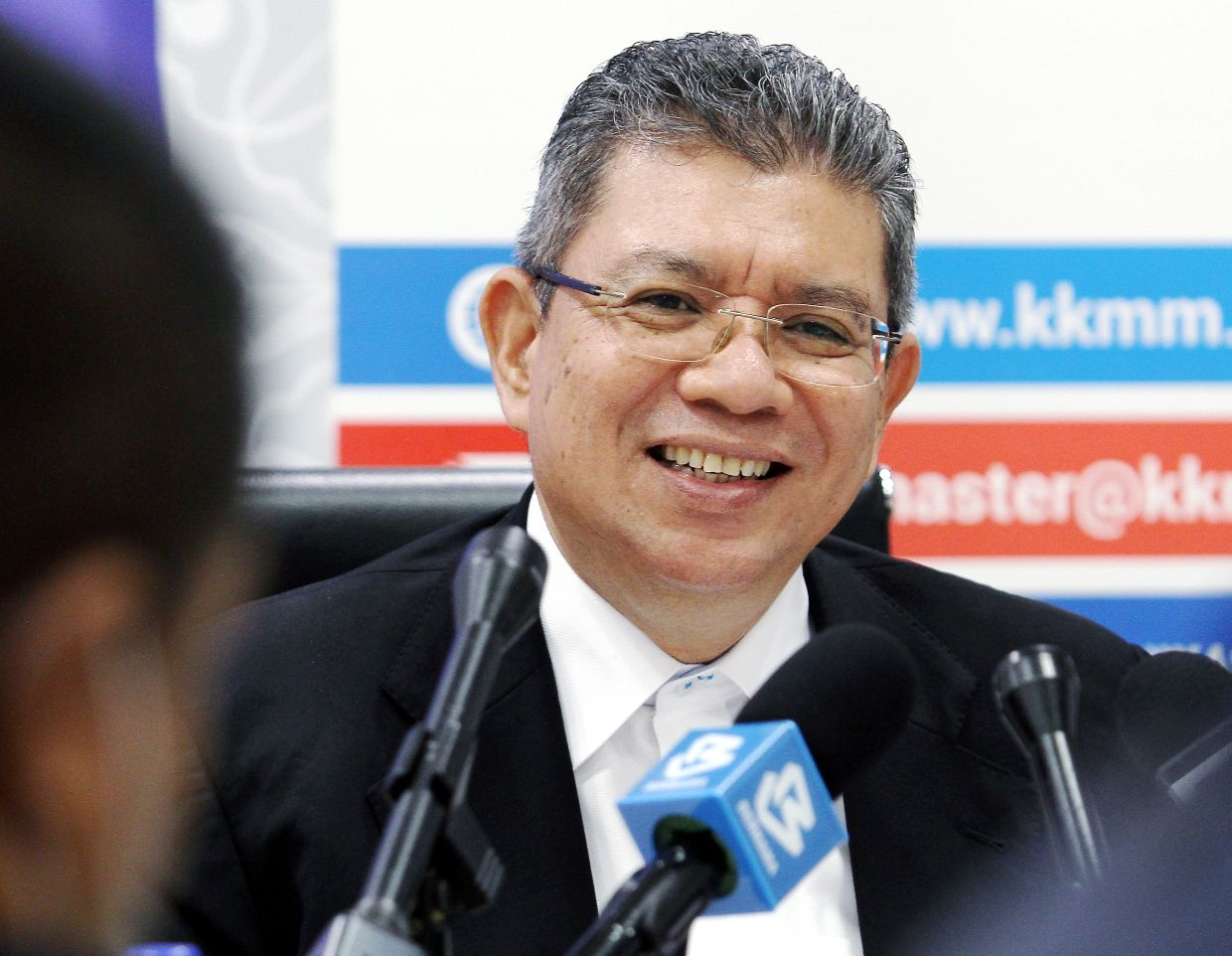 Saifuddin apologised for the confusion caused by the 1981 Finas Act licensing issue. — Bernama