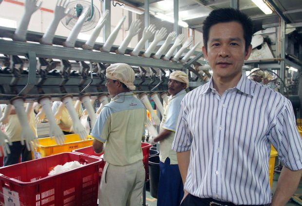 Mr Wong Teek Son is now a billionaire.