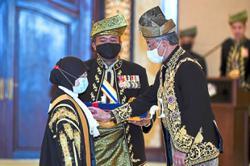 CJ and UiTM pro-chancellor receive 'Tun' title