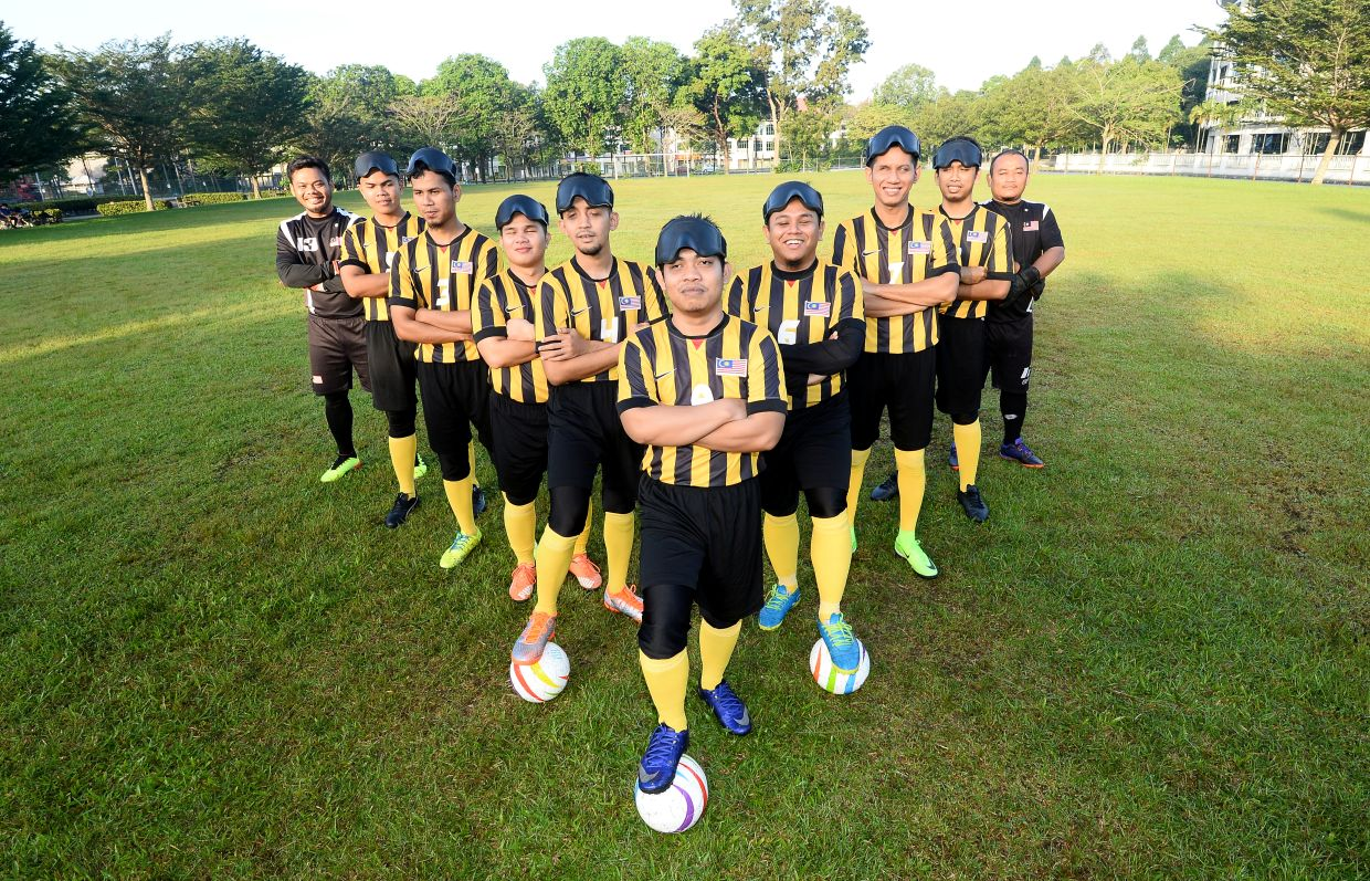 Eye On The Ball follows the Malaysian blind football team as they attempt to qualify for the World Cup of blind football. Photo: THE STAR/Azhar Mahfof