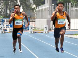 Sprinters Khairul and Haiqal train under Miller in Bukit Jalil