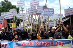 Factbox: Three years on, Rohingya refugees in Bangladesh camps