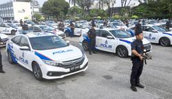 Cops happy with peaceful campaigning