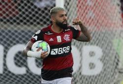 Late 'Gabigol' penalty gives Flamengo 1-1 draw with Gremio