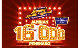16000 Malaysians get a chance to win ewallet credits in the spirit of Merdeka
