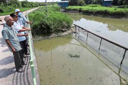 Fishermen cry foul over 'black' river