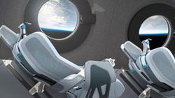 Take a sneak peek at the Virgin Galactic spacecraft cabin