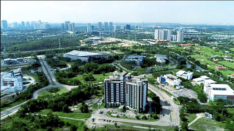 An aerial photo showing the multi-campus city of EduCity Iskandar Malaysia in Johor. — Courtesy pix from EduCity Iskandar