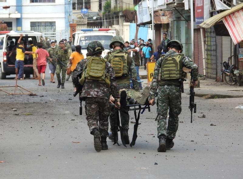 Philippines: 14 dead, scores wounded in twin bombing at Jolo (update) | The  Star