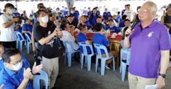 Reject Mahathir proxy, Najib tells Slim voters
