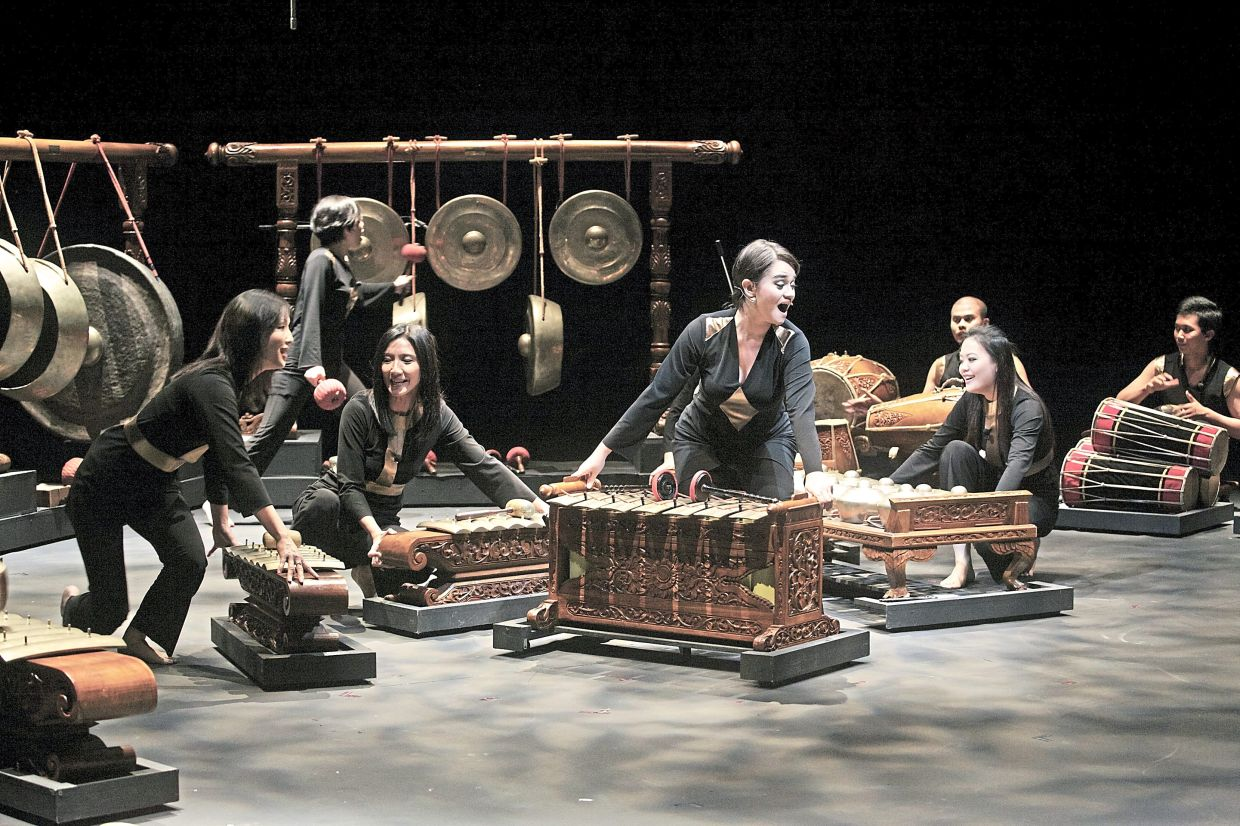 Ooi reveals that RIB's musicians are not strictly focused on a musical score, but, instead, the musicians play in accordance with the feel of their 'collective energy'. Photo: Bernama