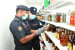 MPS seizes illegal cigarettes and liquor
