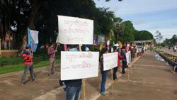 Cambodian Cultural Village protests resume in Siem Reap