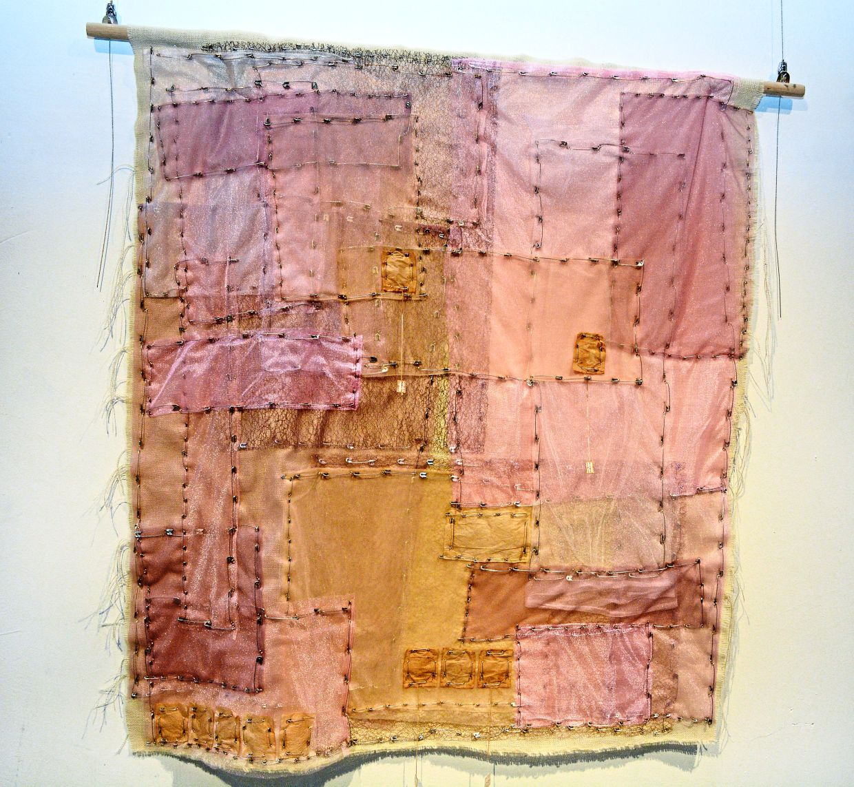 Iona's Spotlight 2019 winning piece 'Fertilitea' is inspired by the Korean bojagi or traditional patchwork wrapping cloth that symbolises happiness and longevity.