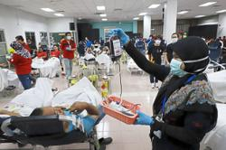 Revving up blood donation drives