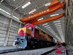 Freight train opens new route between South China's economic cluster and Europe