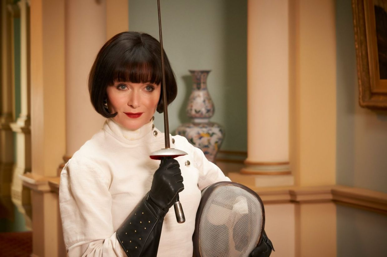 Essie Davis plays Phryne Fisher in three seasons of 'Miss Fisher's Murder Mysteries'. Photo: Handout