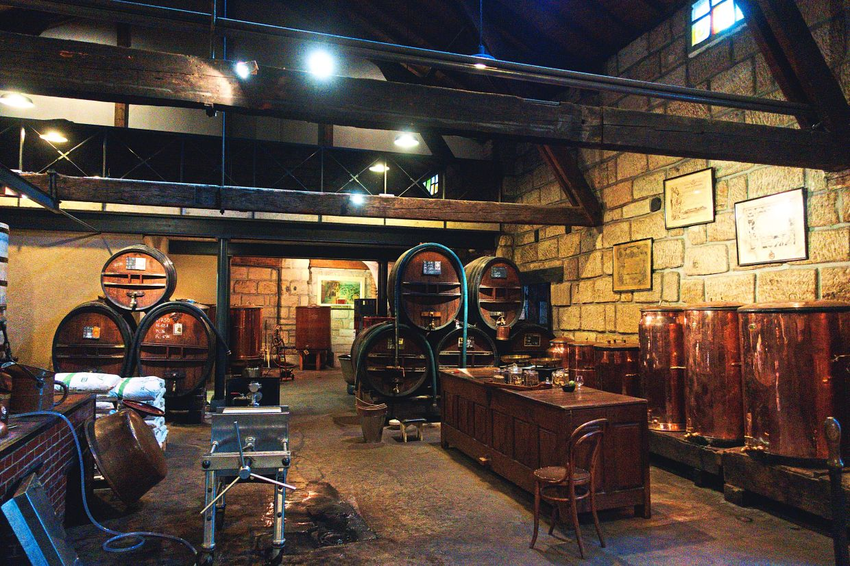 The Denoix distillery produces excellent fennel liqueur as well as fruit, coffee and chocolate options.