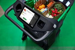 Amazon's latest grocery store concept opens, with high-tech carts