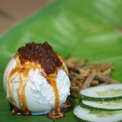 AirAsia turns its famous nasi lemak into an ice cream