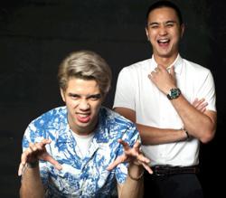 Filming 'Takut Ke Tak' was a laugh riot, actors Fabian Loo and Nabil Aqil say