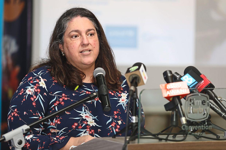 Malaysia's UNFPA representative Marcela Suazo. Photo: THE STAR/Samuel Ong