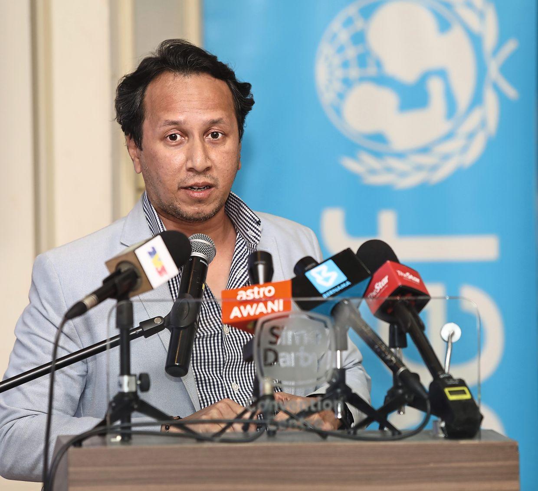 DM Analytics managing director Dr Muhammed Abdul Khalid. Photo: THE STAR/Samuel Ong