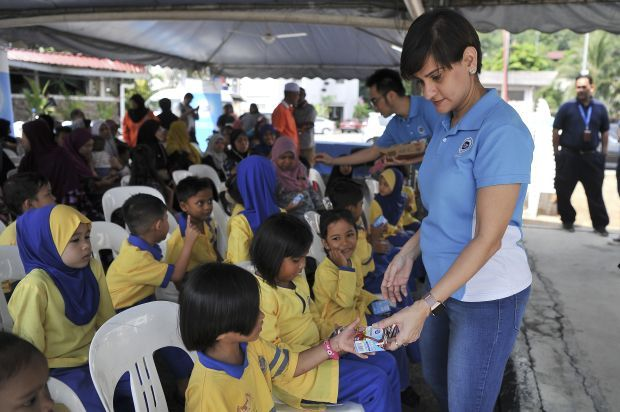 DLMI's Program Cakna Susu aims to ensure underprivileged children have access to affordable nutrition.
