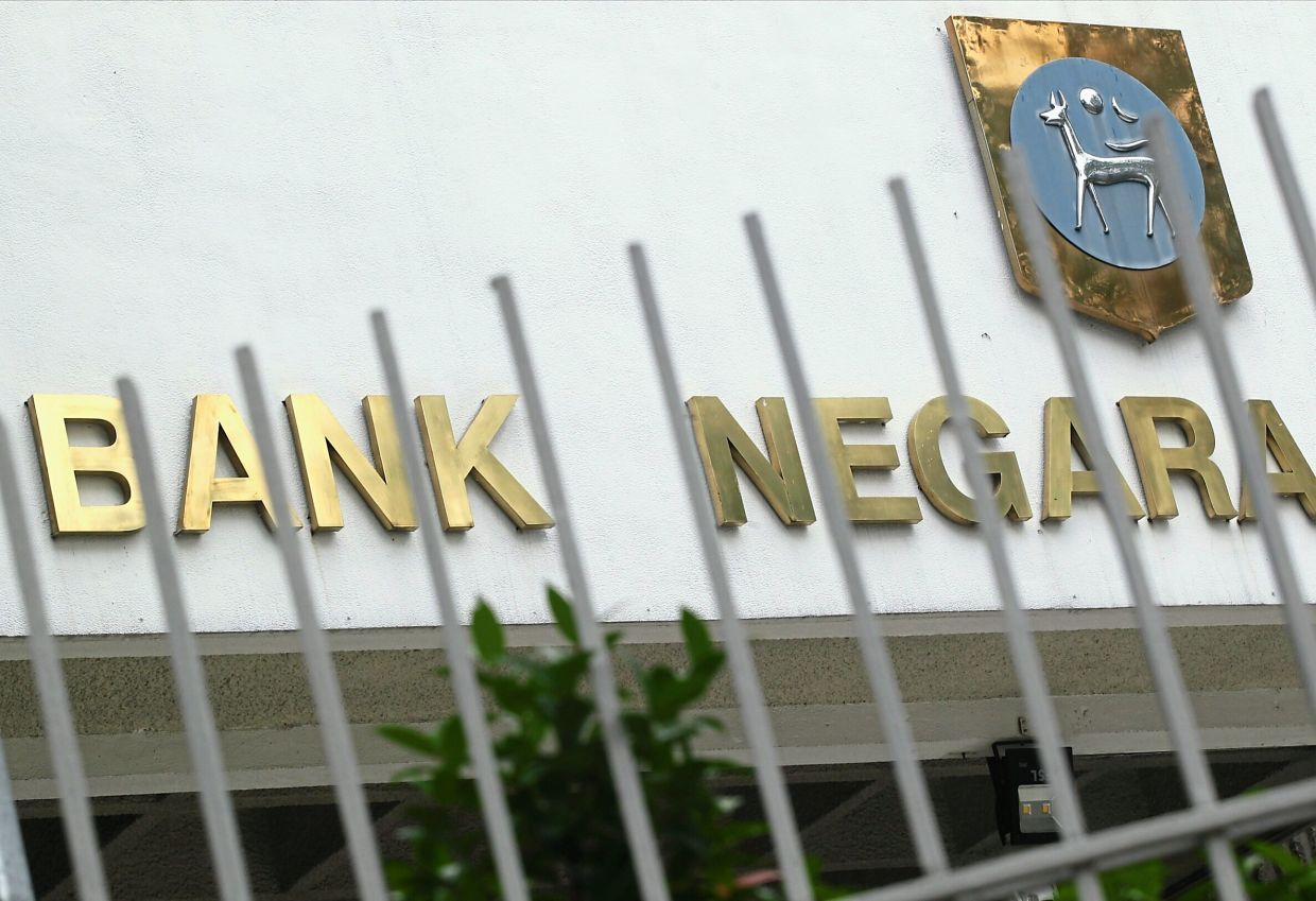 Record low: Economists are expecting Bank Negara to lower the OPR by another 25 basis points to a record low of 1.5%.