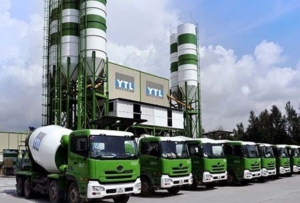 Rise in revenue was contributed mainly by its construction and cement segments.
