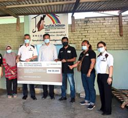 Animal rescue shelter gets RM50,000 boost