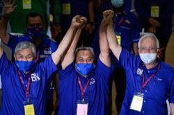 PM congratulates BN's Zaidi on Slim by-election victory