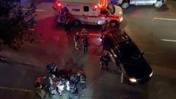 One shot dead in Portland as rival protesters clash
