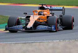 McLaren's Sainz fails to start Belgian GP due to exhaust failure