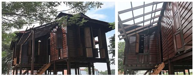 A sneak peek at Rumah Lat which is located on the outskirts of Ipoh, about 30 minutes away from the village Lat grew up in.