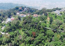 Cable car in revised hill plan