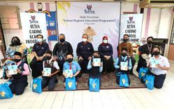 Reusable face masks for three schools in Semenyih