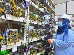 Cryptocurrency premises raided for stealing electricity