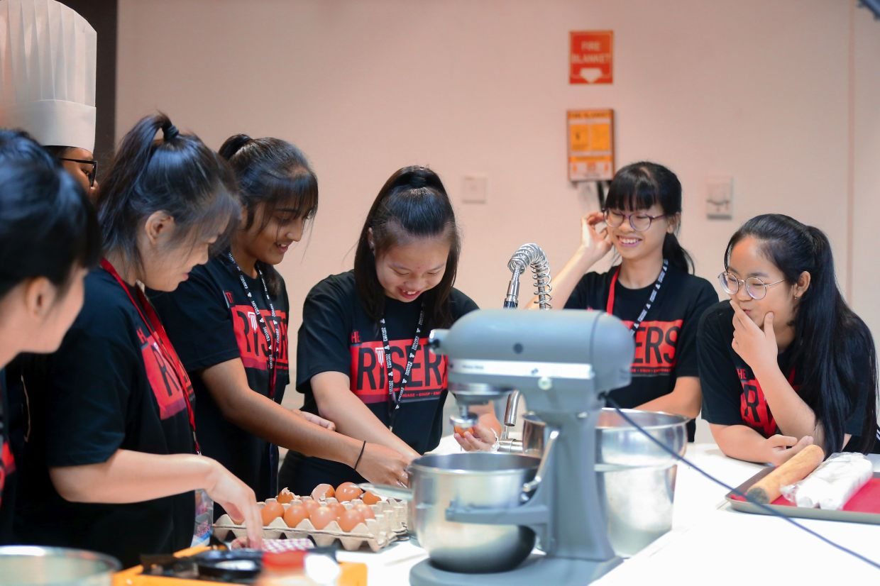 Secondary school students can be part of the Risers community.