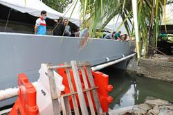 New bridge ends flood woes