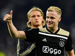 Van de Beek to wear former Ajax team mate Nouri's number at Man Utd