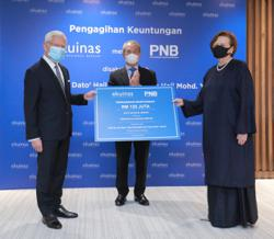 Ekuinas to distribute RM120m to YPB